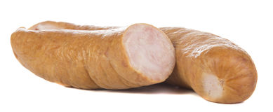 Sausage closeup Royalty Free Stock Image