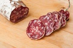 Sausage closeup Royalty Free Stock Photography