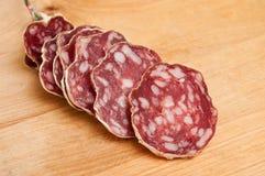 Sausage closeup Stock Photo