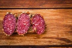Sausage cooked smoked sausage, stock photos