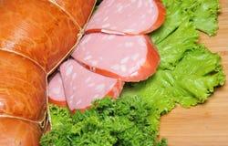 Sausage delicacies Royalty Free Stock Photos
