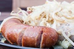 Sausage diner Stock Photos