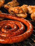 sausage grill Royalty Free Stock Photos
