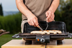 Sausage grill Royalty Free Stock Photo