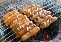 Sausage grill Stock Photos