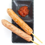 Sausage hot dog Royalty Free Stock Image