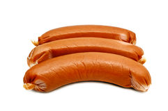 Sausage isolated Royalty Free Stock Photos