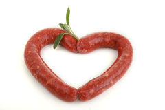 Sausage isolated Stock Images