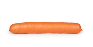 Sausage. Isolated on white background Royalty Free Stock Photo
