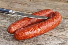 Sausage Kabanos Royalty Free Stock Photos