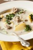 Sausage and Kale Tuscana Soup Stock Images