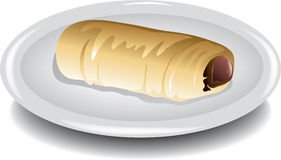 Sausage Kolache Royalty Free Stock Image