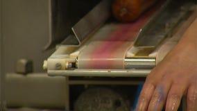 Sausage line stock video footage