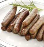 Sausage Links royalty free stock photos