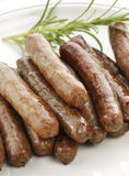 Sausage Links royalty free stock photo