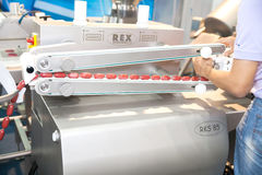 Sausage maker  machine Stock Photos