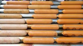 Sausage stock video footage