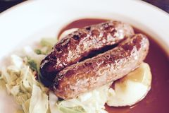 Sausage and Mash Stock Images