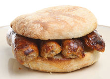 Sausage Muffin Royalty Free Stock Photography