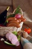 Sausage nature Stock Photo
