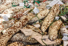 Sausage on the new Market Hall, located in Blaak district, Rotte Stock Photos