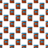 Sausage package pattern seamless. Best for any design Stock Image