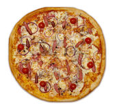 Sausage pizza. Stock Images