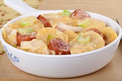 Sausage and Potato Bake Stock Images