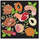 Sausage_Products Images stock