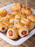 Sausage roll Stock Photo
