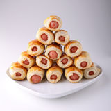 Sausage roll Stock Photography