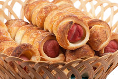 Sausage rolls Royalty Free Stock Photo