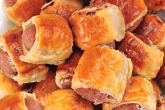 Sausage rolls Royalty Free Stock Images