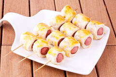Sausage rolls Royalty Free Stock Image