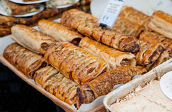 Sausage rolls Stock Image