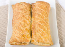 Sausage Rolls royalty free stock photography