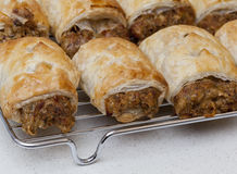 Sausage rolls Royalty Free Stock Photo