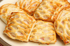 Sausage Rolls with Lattice Pastry Stock Images