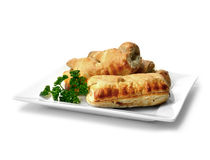 Sausage Rolls Stock Photos