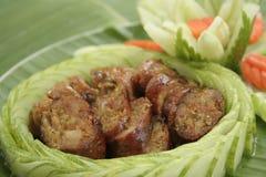 Sausage Sai Auo Stock Image
