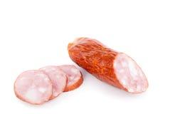 Sausage salami Royalty Free Stock Images