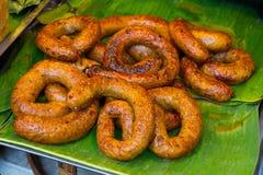 sausage Salsicha do norte de Tailândia Salsicha de 3Sudeste Asiático Como fotos de stock