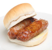 Sausage Sandwich Stock Photos