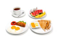 Traditional breakfast. Royalty Free Stock Photos