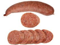 Sausage set Royalty Free Stock Photo