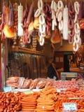 Sausage Shop Stock Photo
