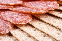 Sausage slices Royalty Free Stock Image
