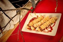 Sausage snack Royalty Free Stock Photos