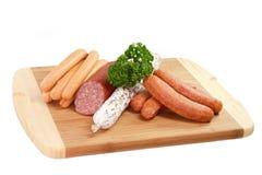 Sausage Sorts Stock Image