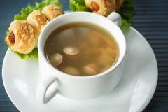 Sausage soup Royalty Free Stock Image